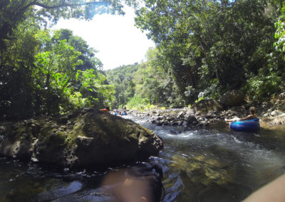River tubing, Hibiscus Valley Inn, Dominica