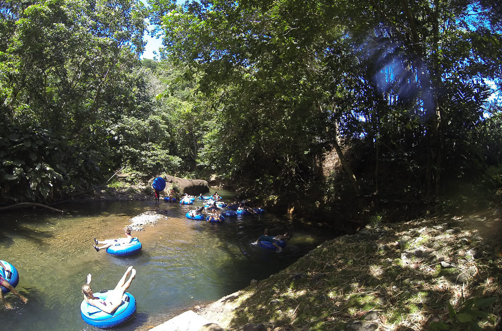 River tubing, Hike & Cookup